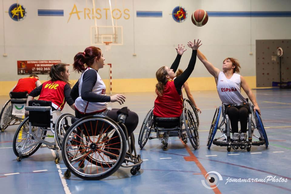 La selecci n femenina de baloncesto en silla de ruedas comienza su preparaci n avance deportivo - Baloncesto silla de ruedas ...