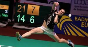La número 26 del mundo y 2 en Europa. Fuente: Badminton Europe