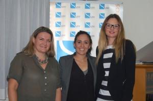 Carmen, Ana y Alejandra. Fuente: LPT / Avance Deportivo