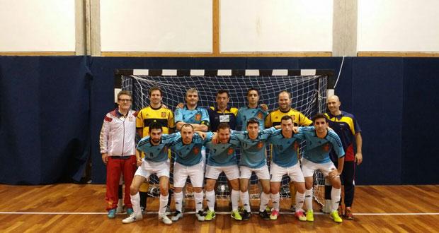 La selección española antes del partido. Fuente: RML / Avance Deportivo