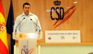Fred en una conferencia. Fuente: CSD