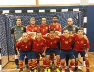 España y Ucrania empatan en el Europeo de fútbol sala B2-B3
