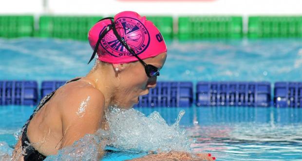 La nadadora Jessica Vall, récord de España en 200 braza. Fuente: Federación Catalana de Natación.