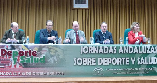 1ª edición Jornadas Salud y Deporte. Fuente: Junta de Andalucía