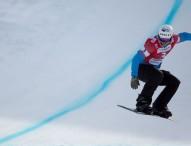 Lucas Eguíbar se corona en la nieve suiza