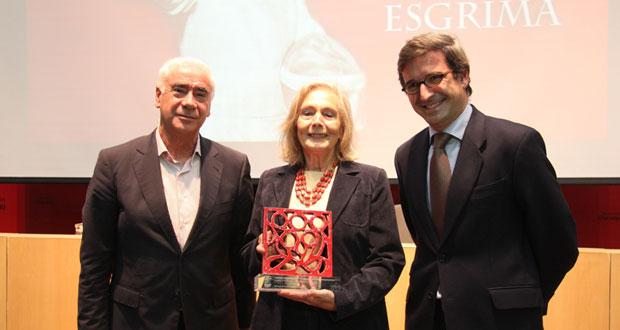 Mary Shaw (centro). Fuente: Fundación Andalucía Olímpica