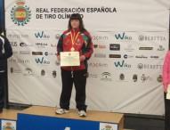 Paula Grande, campeona de España de carabina aire
