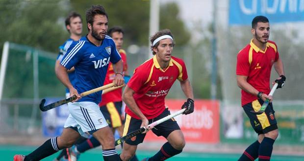 La selección española de hockey hierba gana a Polonia en un amistoso. Fuente: RFEH