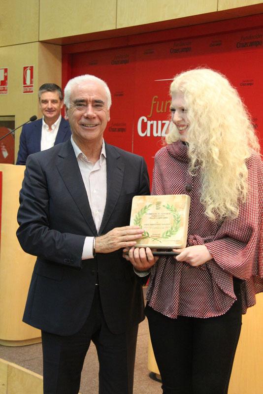 Luciano Alonso y Sara Fernández. Fuente: Fundación Andalucía Olímpica
