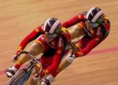 8ª plaza para la velocidad por equipos femenina en Londres