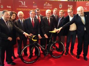 Presentación Vuelta 2015. Fuente: Diputación de Málaga.