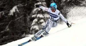 El esquiador Paul de la Cuesta. Fuente: AD