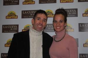 Álvaro Gijón de la Granja y Victoria Padial. Fuente: LPT / Avance Deportivo