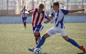 Amanda en un partido de Liga. Fuente: A. Marín