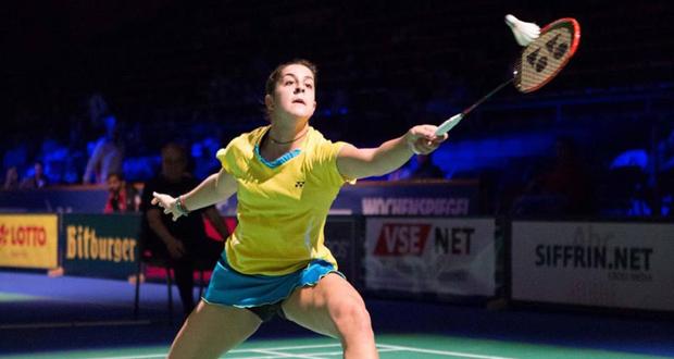 La campeona del mundo y de Europa de bádminton, Carolina Marín. Fuente: Badminton