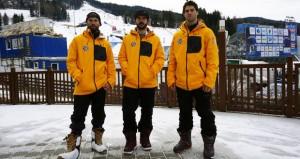 Laro, Regino y Lucas. Fuente: RFEDI