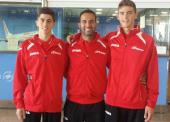 3 medallas para los júnior en el Open de Grecia de Taekwondo