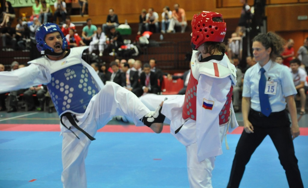 Parataekwondo. Fuente: Federación Internacional de Taekwondo.
