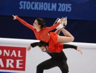 Sara Hurtado y Adriá Díaz, 5º lugar en Estocolmo