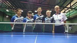 El UCAM Cartagena termina la primera vuelta como líder de la categoría. Fuente: Rfetm