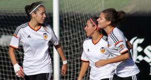 Las jugadoras del Valencia. Fuente: VCF