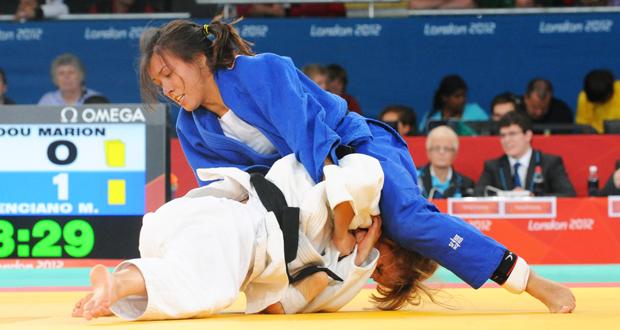 La judoka valenciana, Mónica Merenciano, en los Juegos Paralímpicos de Londres. Fuente: Comité Paralímpico Español