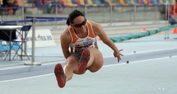 La triplista Patricia Sarrapio en una competición. Fuente: Dival