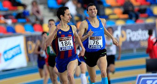 El atleta español de origen marroquí, Adel Mechaal, campeón de 1.500 y 3.000 metros. Fuente: RFEA