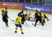 España cae con Suecia en hockey hielo masculino