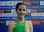 """Sonia Lafuente: """"Me he sentido bien y he luchado cada elemento"""""""