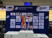 Eloy Teruel, subcampeón del mundo en puntuación