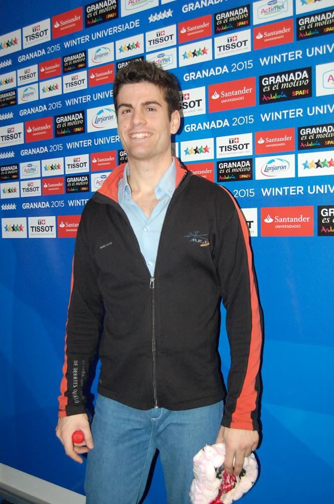 Javier Raya en la Universiada. Fuente: LPT/Avance Deportivo