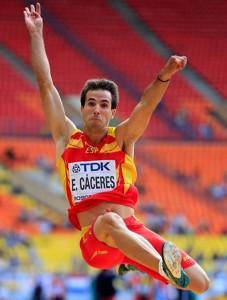 El atleta Eusebio Cáceres. Fuente: IAAF