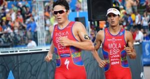 Gómez Noya y Mario Mola. Fuente: triathlon