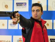 Javi Sánchez Barranco, campeón de España de Pistola Aire