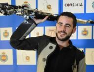 Javi López, campeón en España en carabina 10 m