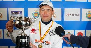 Jesús Serrano tras ganar. Fuente: tiroolímpico