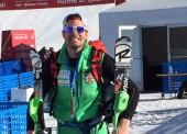 Joaquim Salarich, 39ª en la 1ª manga del slalom
