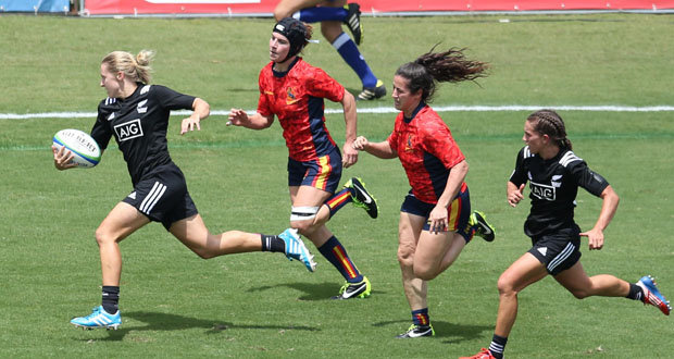 La selección española de rugby seven queda 10ª en las Series Mundiales de Brasil. Fuente: Ferugby