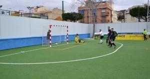 Marcelo Rosado marca el 1-0. Fuente: Javier Cabero Guerra