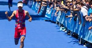 El triatleta balear, Mario Mola, durante una competición la pasada temporada. Fuente: Triathlon.org
