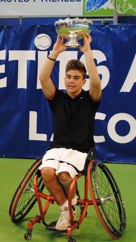 Martín de la Puente. Fuente: ITF Tennis