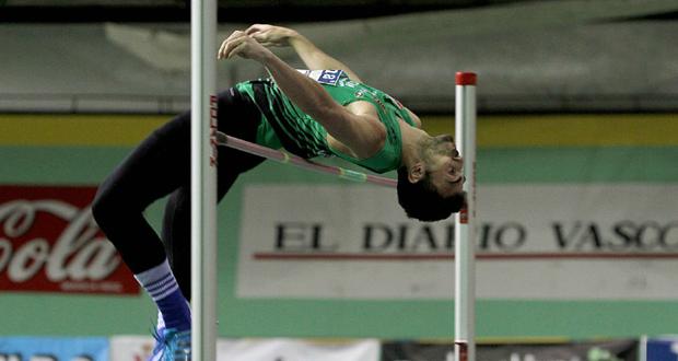 El saltador valenciano, Miguel Ángel Sancho. Fuente: AD