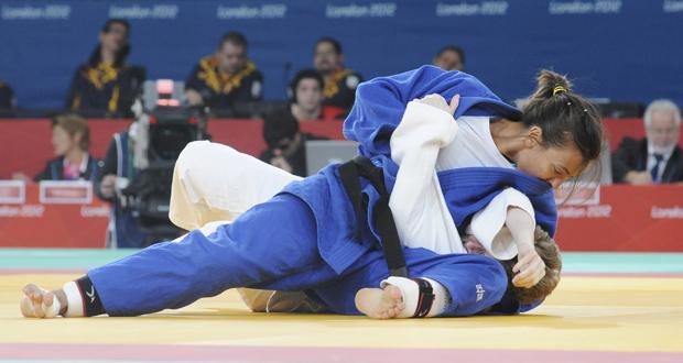 La judoka valenciana Mónica Merenciano. Fuente: Comité Paralímpico Español