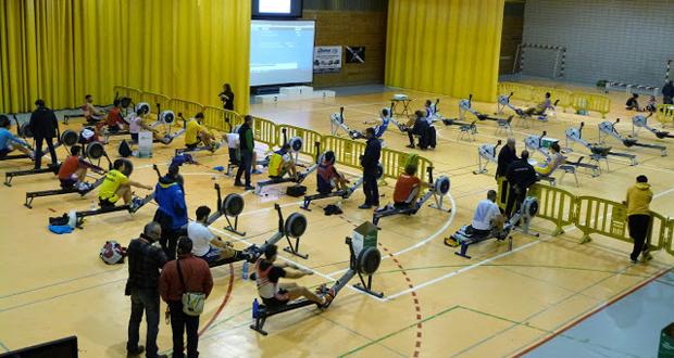 Campeonato de España de Remoergometro 2015. Fuente: Jesús Lara