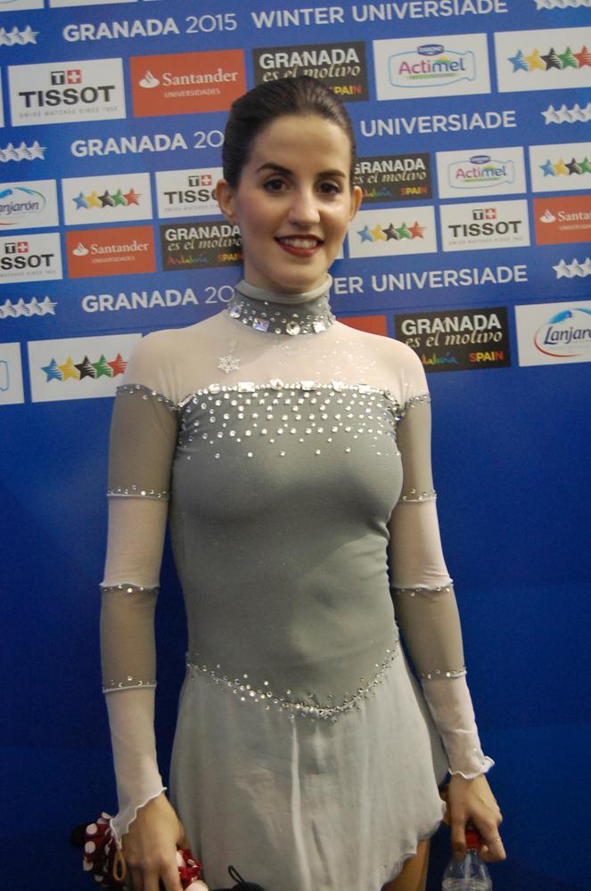 Sonia Lafuente en la Universiada. Fuente: LPT/Avance Deportivo
