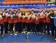 Los taekwondistas españoles brillan en el Open de Alejandría