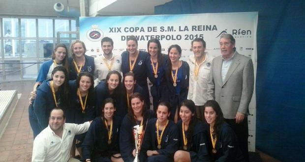 El CN Sabadell, campeón de la Copa de la Reina por 12ª vez. Fuente: RFEN