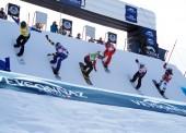 Lucas Eguíbar lidera la Copa del Mundo de Snowboardcross