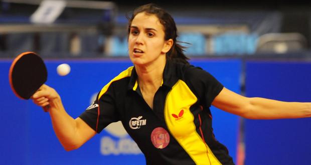 La jugadora española de tenis de mesa, Sara Ramírez. Fuente: Pablo Rubio